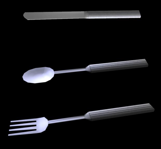 Silverware for kichen wars