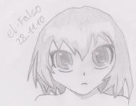 Try draw Aisaka Taiga