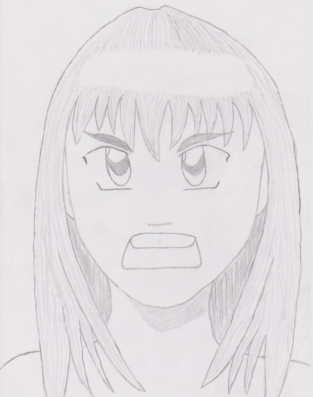 Third try drawing Anime