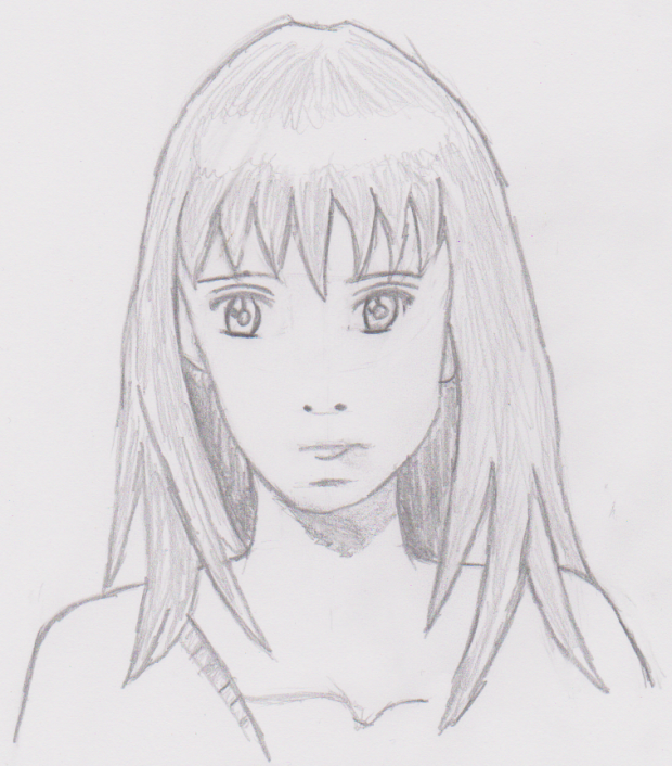 My drawn Anime Character #2 :)