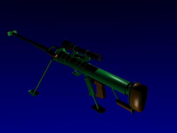 Gepard M1 rifle