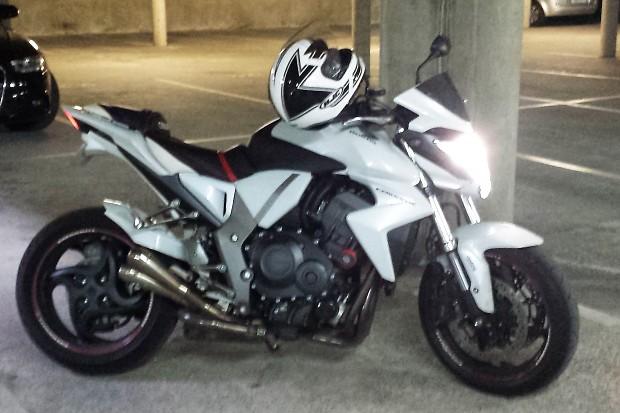 My motorbike..
