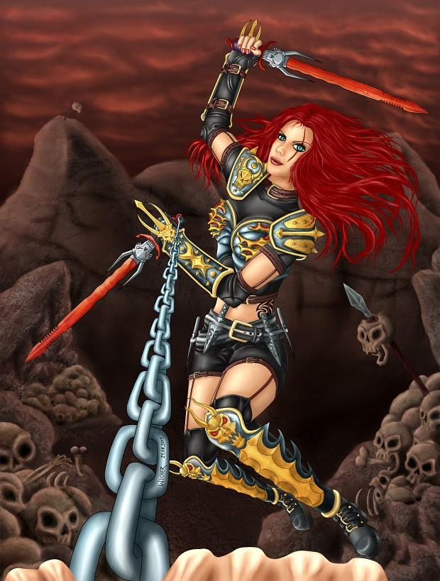 League of Legends-Aggressive Katarina