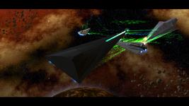 Battle of Coruscant - Eclipse vs Lusankya