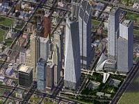 New World Trade Center in Sim City 4