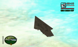 Super Star Destroyer over San Andreas