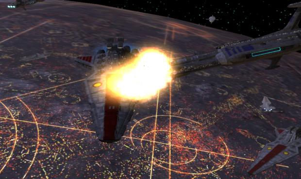 Impavid Hyperspace Collision