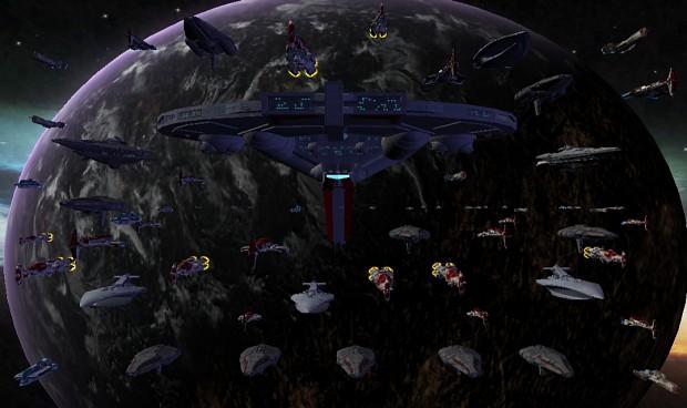 Jedi Civil War Fleet