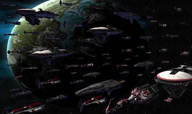 Old Republic Fleet - Great Galactic War