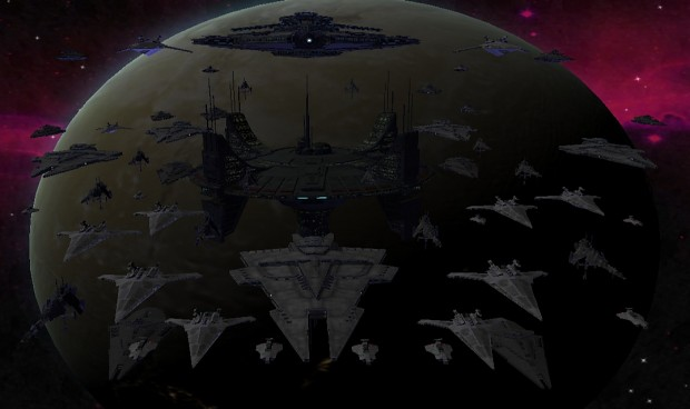 Sith Empire Fleet - Great Galactic War