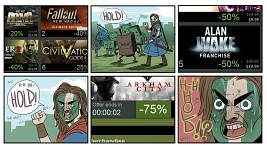 my favorite steam sale meme