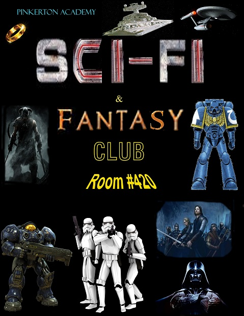 Sci-fi and Fantasy Club Poster