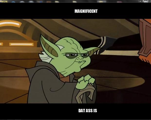 Master Yoda's a Perve