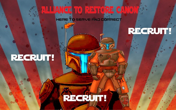 Old ARC recruitment poster