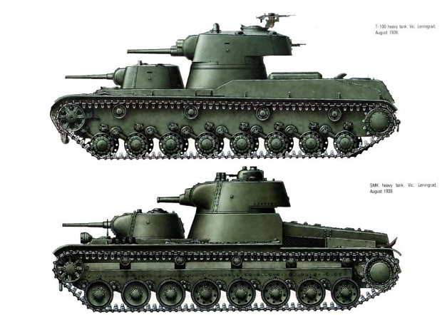 Some experimental tanks