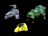 Space Ship Sculpts