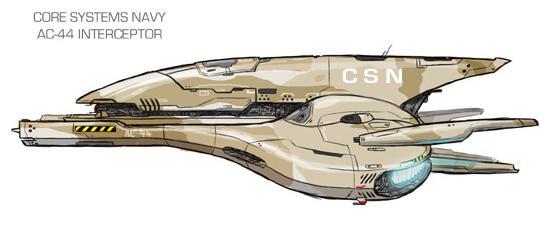 "CSN AC-44 ""Kestrel"" Interceptor"