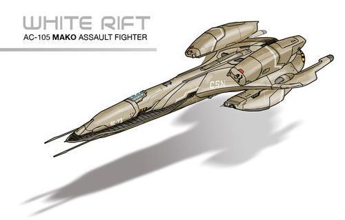 """CSN AC-105 """"Mako"""" Assault Fighter"""