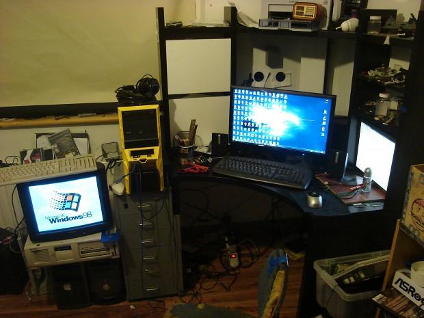 my computer setup