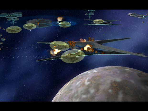the X-304 v the cylons and battle stars