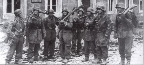 The last german snipers battalion in the WWII