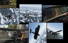 Fokker D.VII scheme