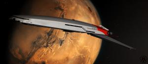 """IM - Cruiser """"Thalassomedon"""" - Departing Mars - 01"""