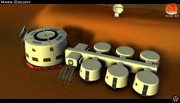 Mars 3D - The Mars  Colony