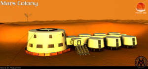 Mars 3D - The Colony WIP