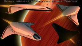 The Konay Industries Phalanx Strike Fighter