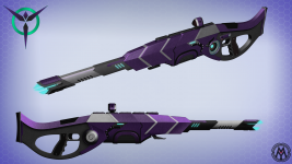 Vanu Sovereignty Battle Rifle
