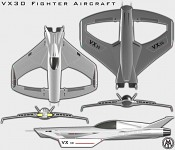VX 30 Fighter Aircraft