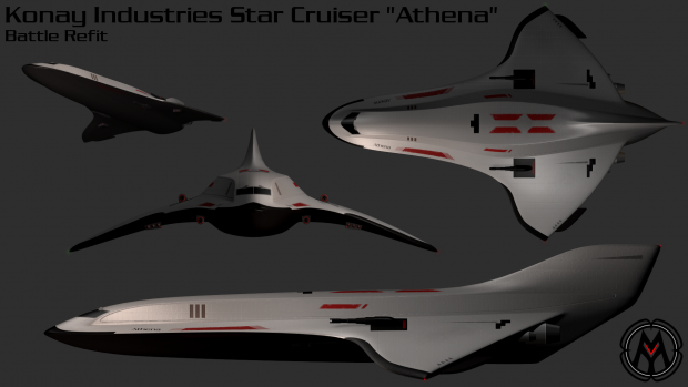 "Konay Industries Star Cruiser ""Athena"""