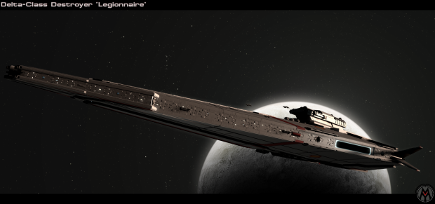"""Delta-Class Destroyer """"Legionnaire"""""""