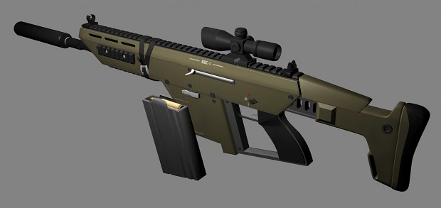ESC-1 Tactical Assault Rifle