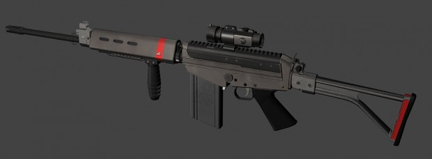 FAL mk5 (Fictional Design)