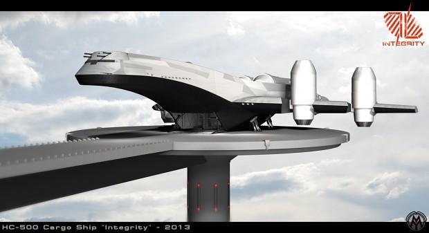 """HC-500 Cargo Ship """"Integrity"""""""
