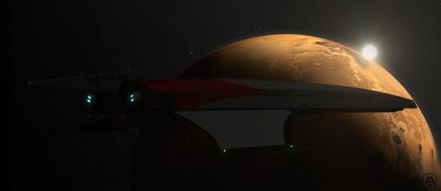 "IM - Cruiser ""Thalassomedon"" - Arrival At Mars"