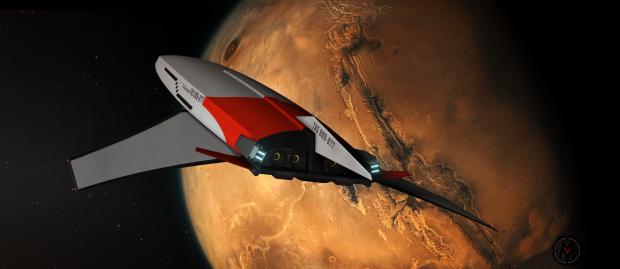 """IM - Cruiser """"Thalassomedon"""" - Departing Mars - 02"""