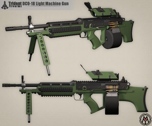 IM - DCO-18 Light Machine Gun