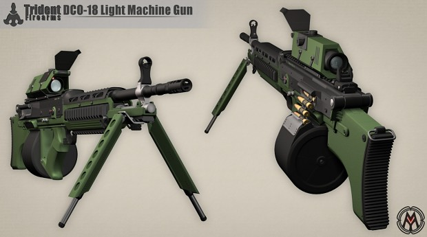 IM - DCO-18 Light Machine Gun