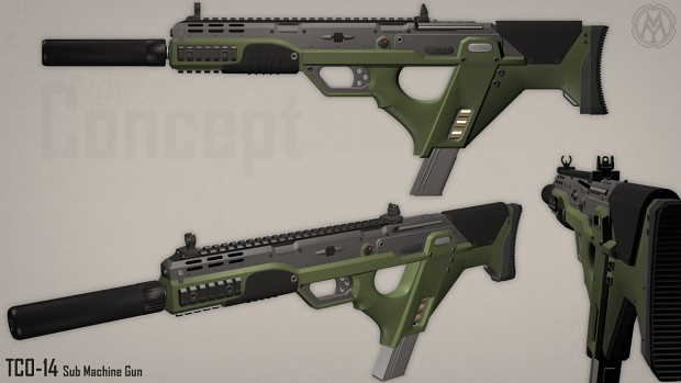 IM - TCO-14 Tactical SMG