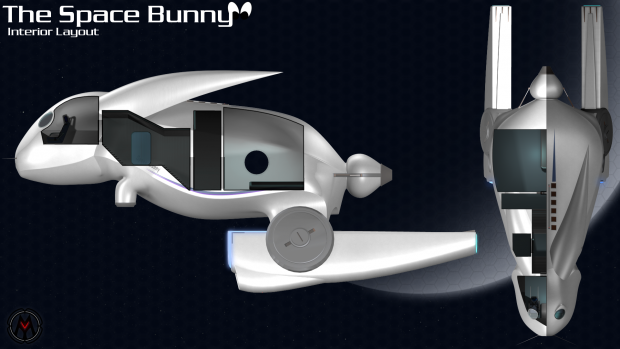 Space Bunny Interior
