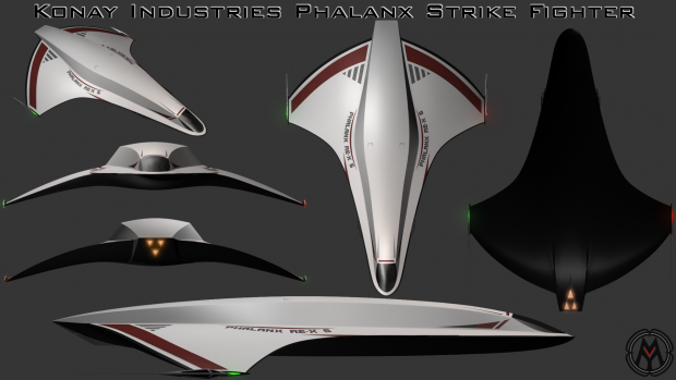 The Konay Industries Phalanx Strike Fighter