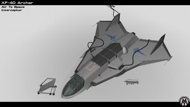 XF-40 Archer Interceptor