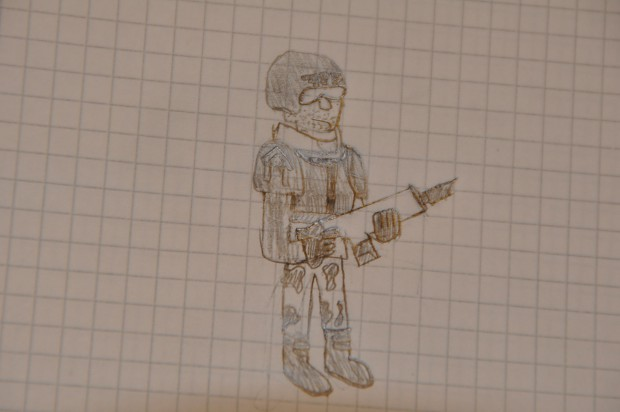 My Imperialguard drawing
