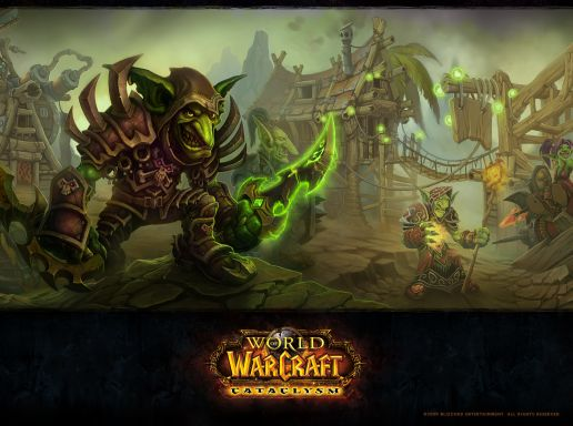 WOW Cataclysm: Goblin