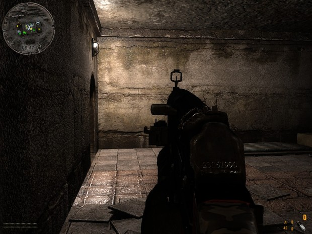 Stalker Misery mod with modified GL sights