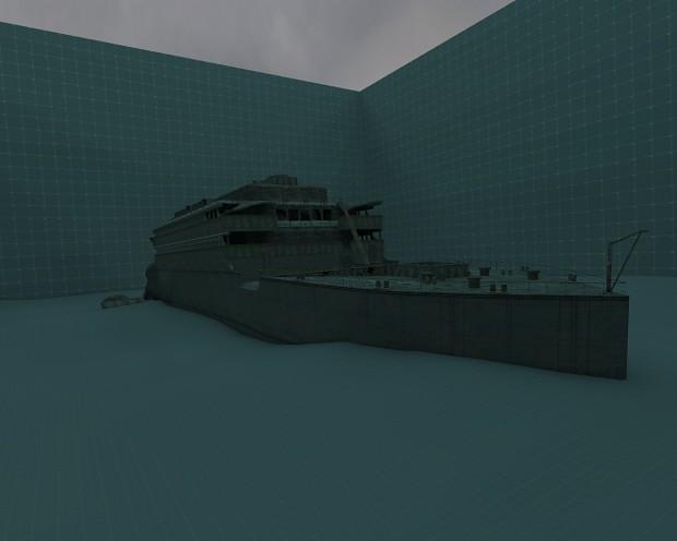R.M.S Titanic shipwreck