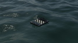 Floating Chessboard